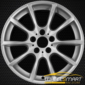 "18"" BMW 640i OEM wheel 2011-2019 Silver alloy stock rim 36116783522"
