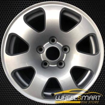 "15"" Audi A4 OEM wheel 2002-2005 Silver alloy stock rim ALY58745U20"