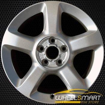"17"" Audi A6 OEM wheel 2003-2004 Silver alloy stock rim ALY58764U20"
