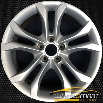 """18"""" Audi S4 OEM wheel 2011-2012 Silver alloy stock rim ALY58868U20"""