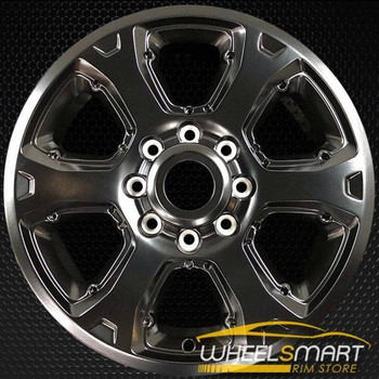 "20"" Dodge Pickup OEM wheel 2014-2018 Hypersilver alloy stock rim 1VQ85RXFAB, 1VQ85RXFAA"