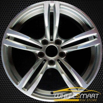 "19"" BMW M Series OEM wheel 2016-2019 Machined alloy stock rim 36112284756"