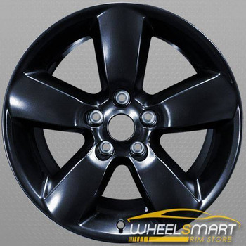 "20"" Dodge Ram 1500 OEM wheel 2013-2017 Black alloy stock rim 1UB17GSAAA"
