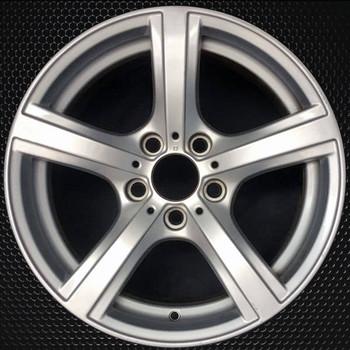 "17"" BMW Z4 OEM wheel 2009-2016 Silver alloy stock rim 36116785240"