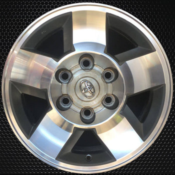 "16"" Toyota FJ Cruiser OEM wheel 20082010 Machined alloy stock rim 4261135370"