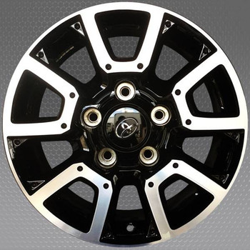 "18"" Toyota Tundra OEM wheel 2014-2019 Machined And Black alloy stock rim 426110C170, 426110C200"