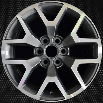 "17"" GMC Canyon OEM wheel 2015-2019 Machined alloy stock rim 23245011"