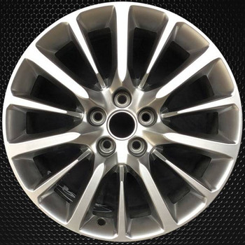 "19"" Cadillac CT6 OEM wheel 2016-2019 Hypersilver alloy stock rim 22941671"