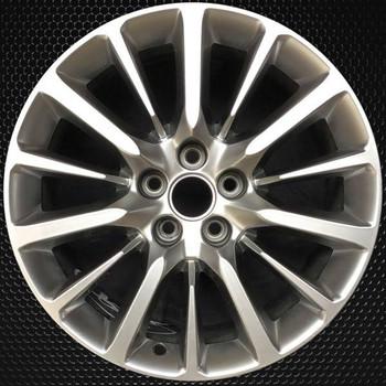 "19"" Cadillac CT6 OEM wheel 2016-2019 Hypersilver alloy stock rim 22941671"