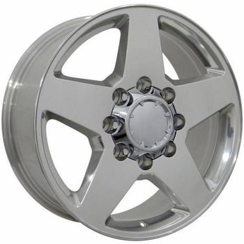 "20"" GMC Sierra 2500 3500 replica wheel 2011-2018 Polished rims 9451932"