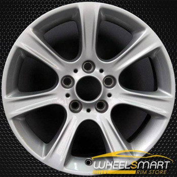 "17"" BMW 3 Series OEM wheel 2012-2019 Silver alloy stock rim 36116796243"