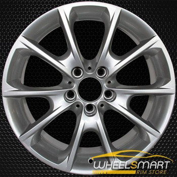 "18"" BMW 3 Series OEM wheel 2012-2019 Silver alloy stock rim 36116796251"