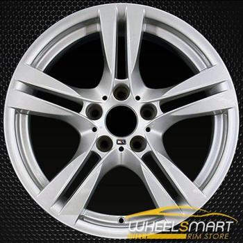"18"" BMW X1 OEM wheel 2012-2015 Silver alloy stock rim 71599 36117842636"