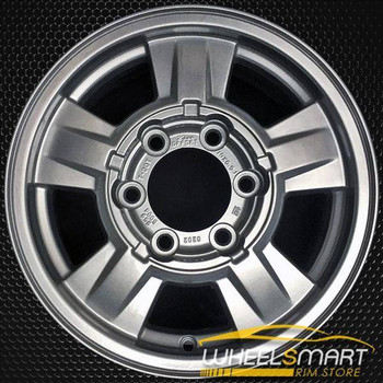 "15"" Chevy Colorado OEM wheel 2004-2009 Silver alloy stock rim 9594990"