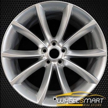 "19"" Jaguar F Type OEM wheel 2014-2019 Silver alloy stock rim T2R1860"