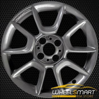 "16"" Fiat 500 OEM wheel 2012-2018 Charcoal alloy stock rim 1UF17DX8AA"