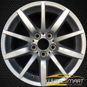 "17"" BMW 3 Series OEM wheel 2008-2013 Silver alloy stock rim 36116783632"