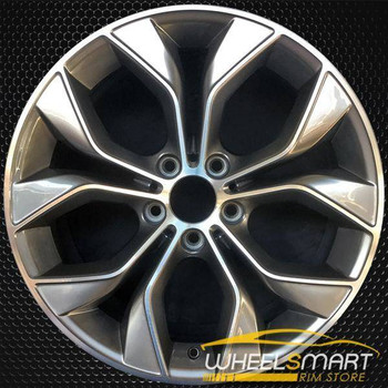 "19"" BMW X4 OEM wheel 2015-2018 Machined alloy stock rim 36116862890"