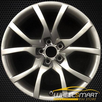 "18"" Audi A5 OEM wheel 2010-2014 Silver alloy stock rim 8T0601025E"
