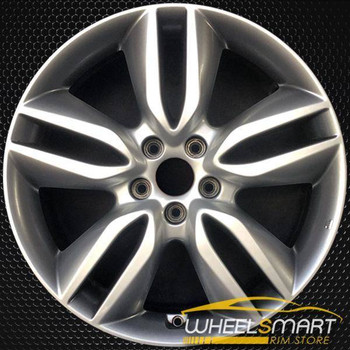 "19"" Hyundai Santa Fe OEM wheel 2013-2016 Silver alloy stock rim 529104Z195"