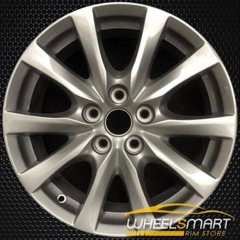 """17"""" Mazda 6 OEM wheel 2014-2016 Silver alloy stock rim 9965077570 , 9965087570"""