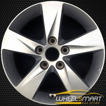 """16"""" Hyundai Elantra OEM wheel 2011-2013 Silver alloy stock rim 529103X250, 529103Y250, 529103Y200"""