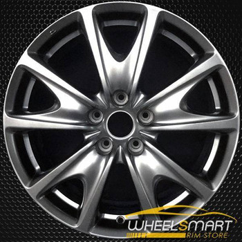 "18"" Infiniti G Series OEM wheel 2009-2013 Hypersilver alloy stock rim D0300JU44A"