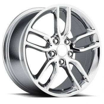 Chrome Chevy Corvette C7 Z51 Replica Wheels Rims FR26