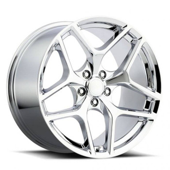 Chrome Chevy Camaro Z28 Replica Wheels Rims FR27