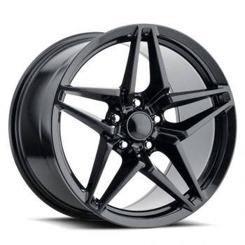 Carbon Black Chevy Corvette C7 ZR1 Replica Wheels Rims FR29