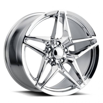 Chrome Chevy Corvette C7 ZR1 Replica Wheels Rims FR29