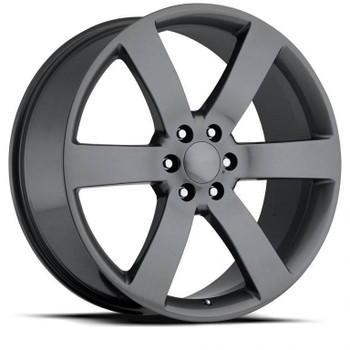 Comp Grey Chevy Trailblazer SS Replica Wheels TBSS Fitment Rims FR32