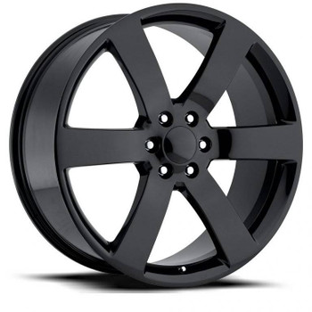 Gloss Black Chevy Trailblazer SS Replica Wheels TBSS Fitment Rims FR32