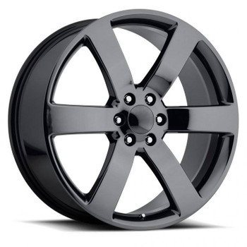 PVD Black Chrome Chevy Trailblazer SS Replica Wheels TBSS Fitment Rims FR32