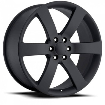 Satin Black Chevy Trailblazer SS Replica Wheels TBSS Fitment Rims FR32