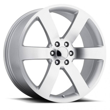 Machined Face Silver Chevy Trailblazer SS Replica Wheels TBSS Fitment Rims FR32