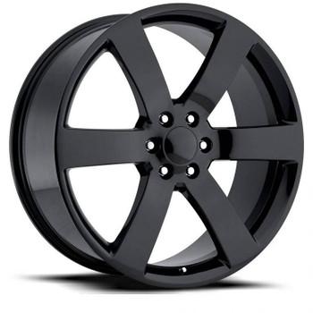Gloss Black Chevy Silverado SS Replica Wheels Rims FR32