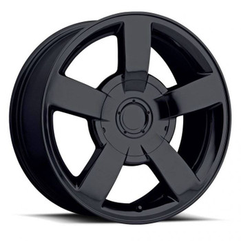 Gloss Black Chevy Silverado SS Replica Wheels Rims FR33
