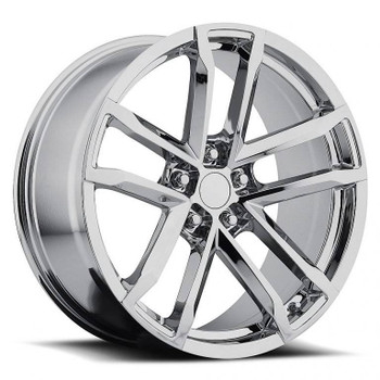 Chrome Chevy Camaro ZL1 Replica Wheels Rims FR41
