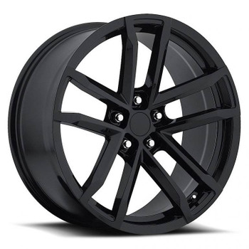 Satin Black Chevy Camaro ZL1 Replica Wheels Rims FR41