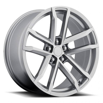 Chevy Camaro ZL1 Replica Wheels Machined Face Silver rims FR41