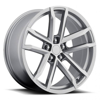 Machined Face Silver Chevy Camaro ZL1 Replica Wheels Rims FR41