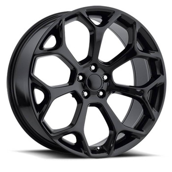 Gloss Black Chrysler 300 Replica Wheels Rims FR71