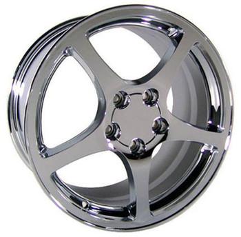 """18"""" Pontiac Firebird replica wheel 1993-2002 Chrome rims 4750493"""