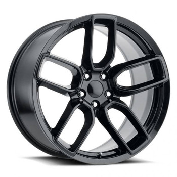 Gloss Black Dodge Charger Widebody Replica Wheels Rims FR74