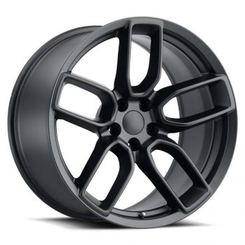 Satin Black Dodge Charger Widebody Replica Wheels Rims FR74