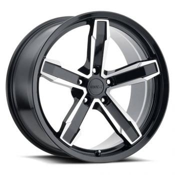Machined Face Black Chevy Camaro Iroc-Z Replica Wheels Rims Z10