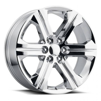 Chrome GMC Savana 1500 Replica Wheels Rims FR47