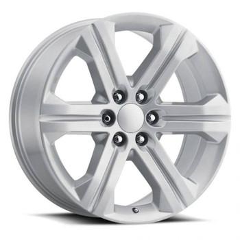 Silver GMC Savana 1500 Replica Wheels Rims FR47