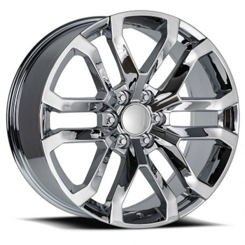 Chrome GMC Sierra 1500 Denali Replica Wheels Rims FR95